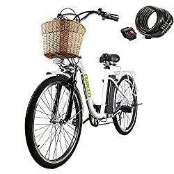 Step through electric bike
