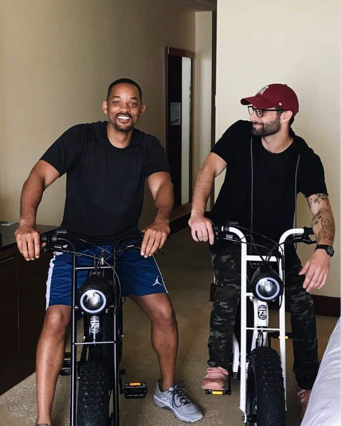 Will Smith Electric bike by SUPER73